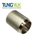 Pezzi meccanici di giro personalizzati di CNC con acciaio inossidabile