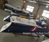 Liya costela 330 embarcações de recreio barco inflável costela de casco de fibra de vidro