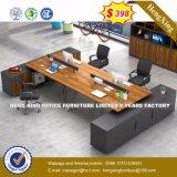 Bureau de poste de travail de PC en métal de panneau de modèle moderne (HX-8N1368)