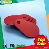 Keyfob classico di identità 13.56MHz MIFARE 1K Glassfieber del portello