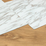 Sécher en arrière/des tuiles de marbre de vinyle des carrelages de colle vers le bas/PVC