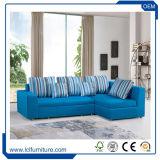 Weicher Textilverpackung-Sofa-Metallrahmen-faltendes Sofa-Bett