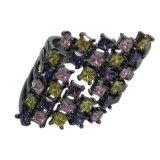 Ювелирные изделия способа с кольцом ювелирных изделий стерлингового серебра камня 925 цвета (R10976)