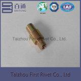 10.3X26.3mm亜鉛カラー管状の鋼鉄停止Pinのリベット