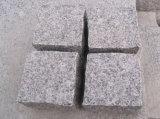 Pietre grige/bianche/beige G654/G682/G603 dei cubi del granito fiammeggiate/Bush Hamered/hanno veduto per tagliare la pavimentazione dei bordi