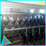 Het Zilver van de lage Prijs en Tank van de Opslag van het Water van het Comité van het Roestvrij staal van het Lassen de Sectionele