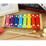 Piano de picado de madera de la escala de 8 Niños Instrumentos Musicales juguetes educativos