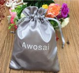 Мешок Drawstring сатинировки, мешок волос, мешок подарка для упаковки волос