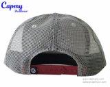 Kastanienbrauner Farben-Hysteresen-Schutzkappen-Art-Fernlastfahrer-Hut mit Änderung- am Objektprogrammfirmenzeichen