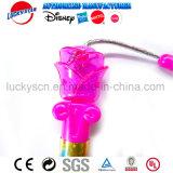Blumen-Form-Plastiktanzen-Stock-Tanz-Stock-Spielzeug mit Farbband