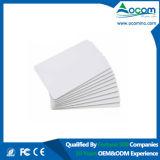 Cartão de RFID em branco Lf 125K Ic 15693 1444313.56MHz um cartão de PVC em branco UHF