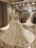 Vestido de casamento luxuoso do vestido de esfera