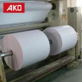 Étiquette auto-adhésive de logistique d'étiquettes d'expédition de roulis enorme de papier thermosensible de constructeur direct