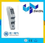 Тип рельса DIN 3 счетчик энергии провода участка 4 электронный активно, метр Kwh, метр электричества
