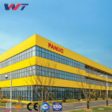 Luz Customed edifícios de estrutura de aço estrutural para o armazém, oficina