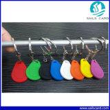 clé Fob de silicones d'IDENTIFICATION RF de 125kHz Tk4100 T5577 pour des promotions
