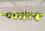 La police de la courroie tactique/fluorescentes de la courroie multifonction couleur