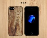 iPhoneのための贅沢で柔らかい木IMD TPU携帯電話の箱8 7