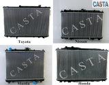 Radiatore di alluminio brasato automatico di buona qualità per Mazda Protege 95-98 323 Mt