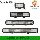 Mini LED barra 2017 del CREE LED della barra chiara 18W dell'automobile fuori dall'automobile dell'indicatore luminoso di azionamento della strada
