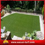 Césped artificial de la hierba de la decoración del jardín de la alfombra de las residencias para el hogar