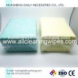 Wipe non tessuto di Non-Fluoscrent Spunlace per pulizia della cucina
