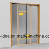 muelle de puerta de desplazamiento semiautomático 46inch para el armario de la cocina, granero, guardarropa, almacén, taller
