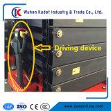 levage automoteur électrique de ciseaux d'alimentation par batterie de levage de ciseaux de 14m