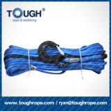 cuerda del torno 4X4 con el gancho de leva 28m*8m m, 10m m, 12m m para al aire libre