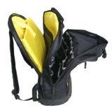 Morral caliente de la herramienta de las bolsas de herramientas del poliester del electricista 600d de la venta con el kit de herramienta de 75 bolsillos