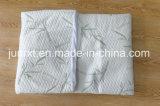 Protezione impermeabile del materasso della fibra di bambù lavorata a maglia Anti-Acaro, protezione di bambù naturale