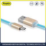 Индивидуальный логотип Micro данных зарядное устройство USB кабель для мобильного телефона
