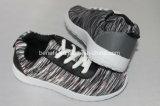 Het ingespoten Schoenen en Bovenleer van de Polyester, de Schoenen van het Canvas