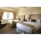 使用されるホテルのための優雅な予算のダブル・ベッドの家具セット(ST005)