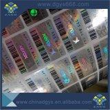 Sicherheit Anti-Fälschung 3D Hologramm-Aufkleber kundenspezifischer Entwurf