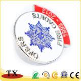 Distintivo personalizzato della polizia di Pin del risvolto del metallo di marchio per la promozione