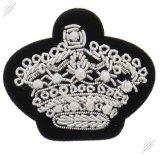 Lado a Índia Bullion emblema bordado do fio para roupa