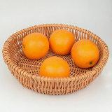 Pão redondo cestos de prova da cesta de vime Natural feitos à mão