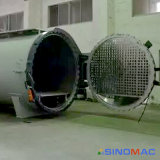 2500x3000mm Norma ASME materiais compósitos de aquecimento eléctrico Autoclave com automação total