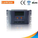 20A PWM 30A 40um Carregador Solar Display Controller 12V 24V
