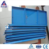 Shelving ajustável do armazenamento do metal do armazenamento do armazém