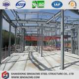 Sinoacmeはカーテン・ウォールが付いている金属フレームの店を組立て式に作った