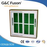 Aluminium-/Aluminiumlegierung-horizontales schiebendes abgetöntes Glasfenster