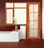 Guichet et porte de verre feuilleté de qualité pour la villa