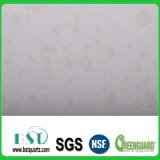 Pierre de marbre artificielle de quartz de partie supérieure du comptoir de cuisine
