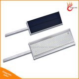 Luz accionada solar al aire libre de la pared de la inundación de la calle del jardín LED de la seguridad del sensor de movimiento del LED
