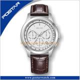 L'épée remet aux hommes lumineux de chronographe de cadran d'opération de Speical la montre-bracelet