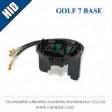 Base OCULTADA socket del coche para el nuevo Touran golf 7 Touareg Scirocco Sharan H7 de Volkswagen
