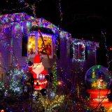 Lumière décorative actionnée solaire de Lanscape de chaîne de caractères pour le mariage d'usager de vacances de Noël de jardin
