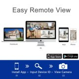 cámara sin hilos del IP de la seguridad del CCTV del kit de 1080P HD WiFi NVR
